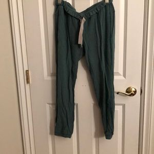 lightly worn lululemon Serenity Jogger